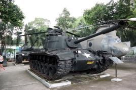 a-US-army-tank-in-Saigon