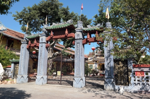 An example of traditional Southeast Asian architecture (Hoi An)